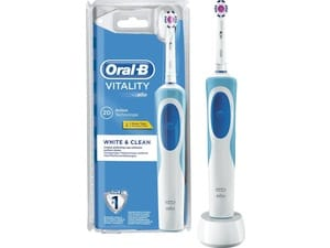 Oral-B Vitality White & Clean Blauw, Wit